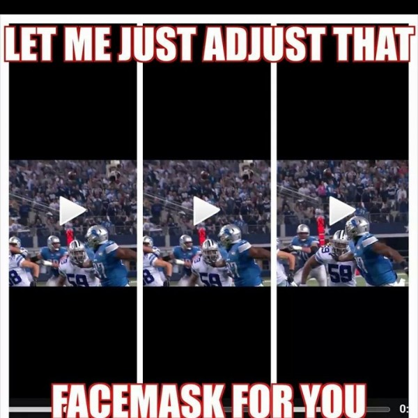 Adjusting the facemask