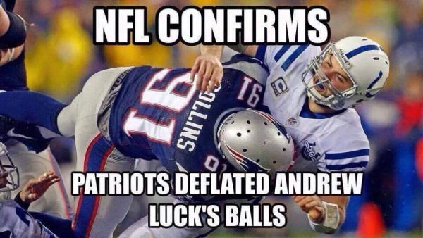 Andrew Luck balls