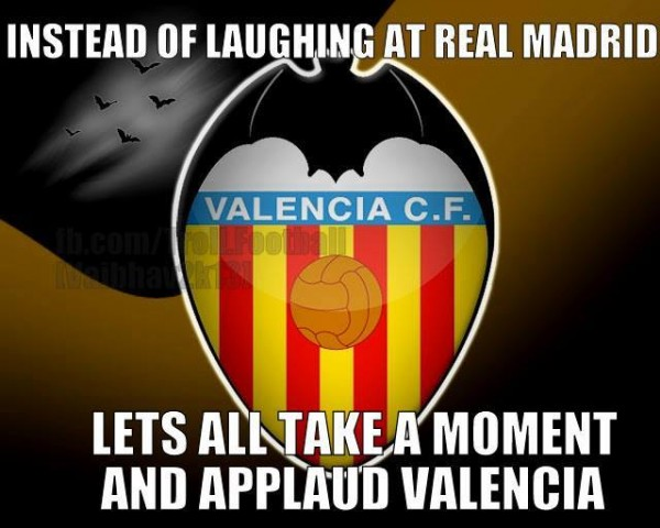 Applauding Valencia