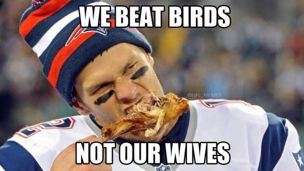 Beating Birds, not Wives