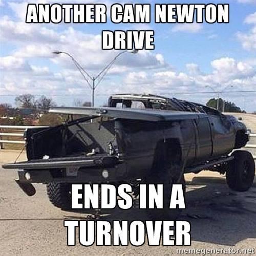 Cam Newton drive