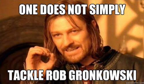 Can't tackle Gronk
