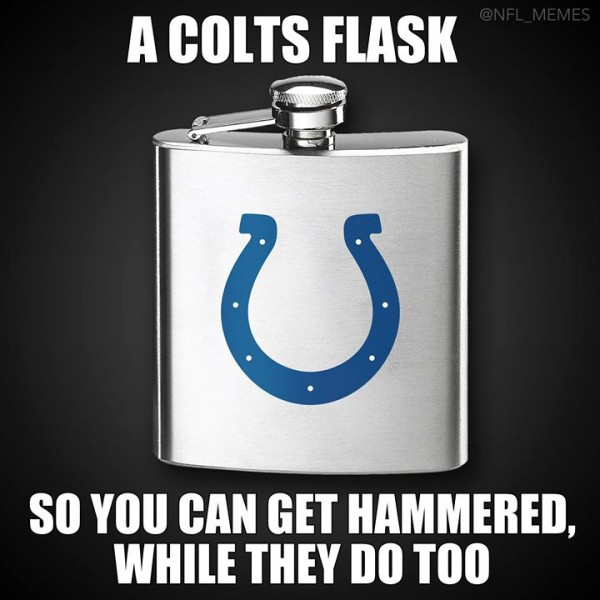 Colts flask