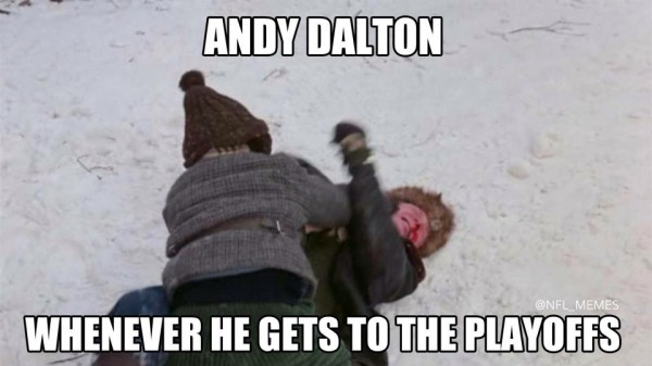 Dalton in the playoffs