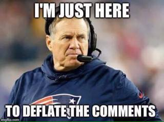 Deflating comments