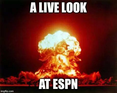 ESPN right now