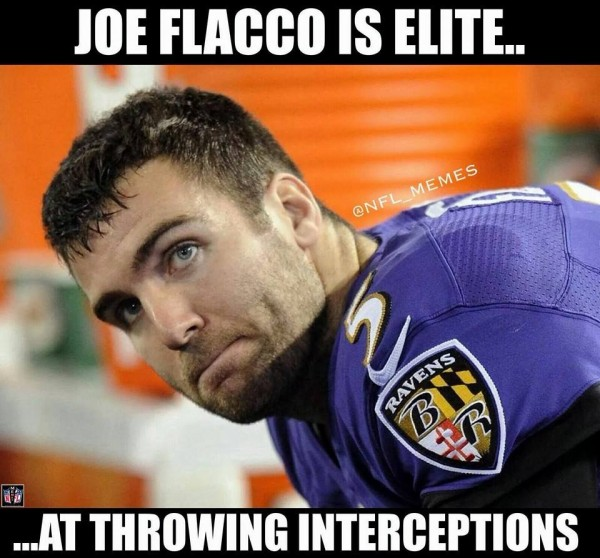 Flacco is elite