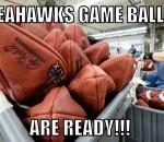 Gameball ready
