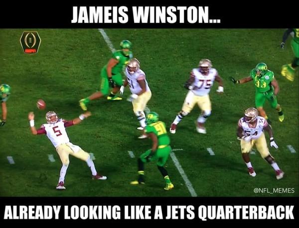 Jameis Winston & Jets