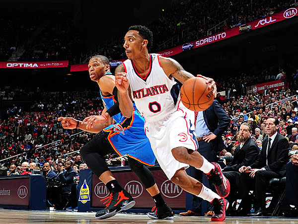 Jeff Teague, Russell Westbrook