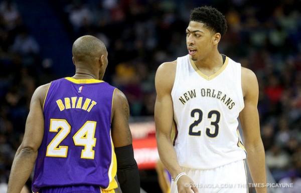 Kobe Bryant, Anthony Davis