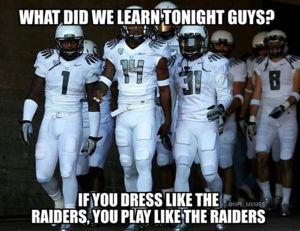 Like the Raiders