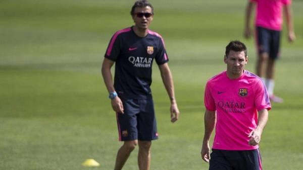 Lionel Messi, Luis Enrique