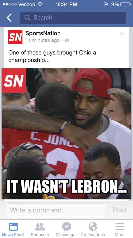 Not LeBron