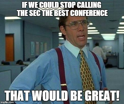 Not the best conference