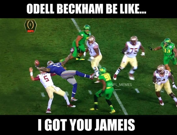 Odell Beckham for the rescue