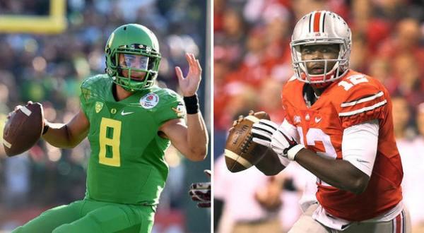 Oregon vs Ohio State