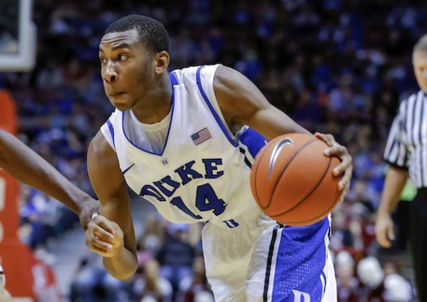 Rasheed Sulaimon e1422618925750 Duke Blue Devils   Rasheed Sulaimon Is the First Player Mike Krzyzewski Kicks Out