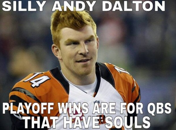 Silly Andy Dalton