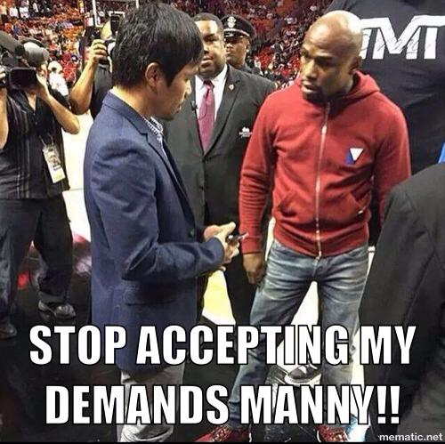 Stop it Manny