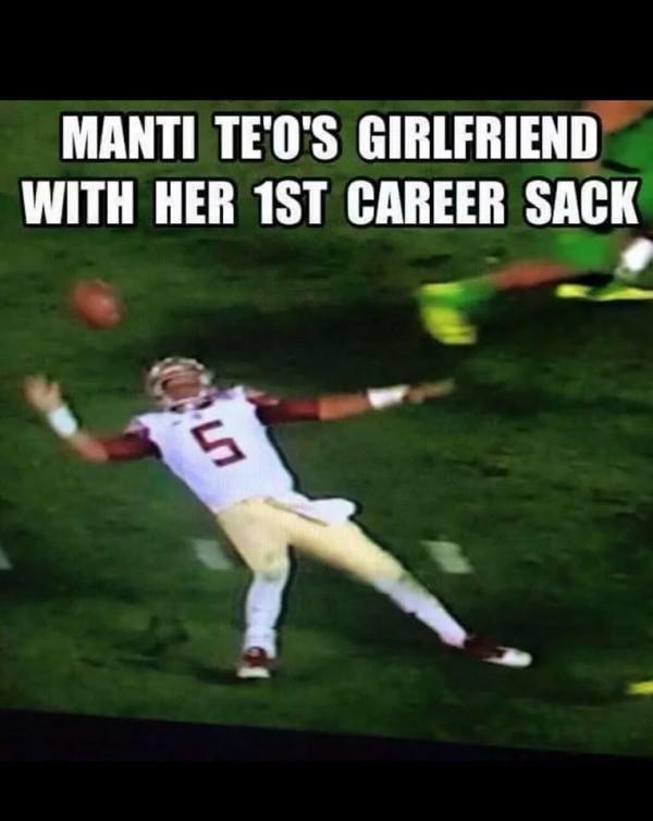 Teo's GF sack