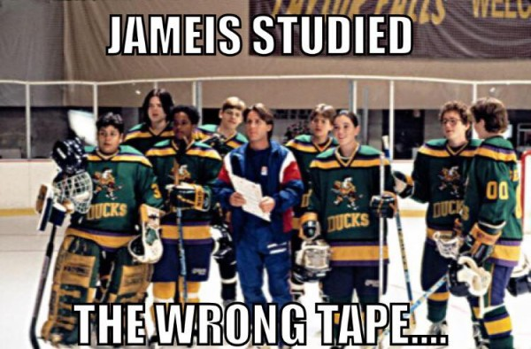 The wrong tape
