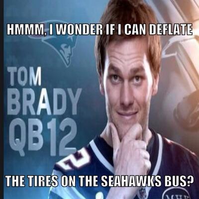 Tom Brady thinking