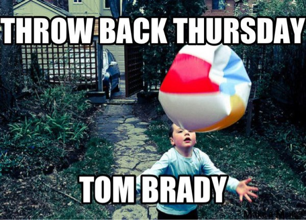 Tom Brady throwback meme