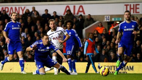 Tottenham beat Chelsea