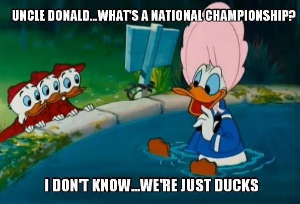 We're just Ducks