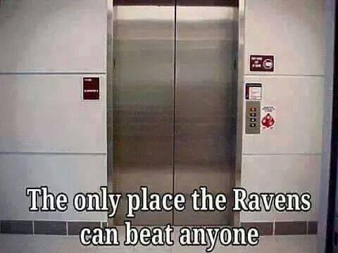 Where Ravens beat