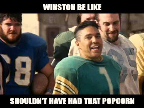 Winston be like Brucie