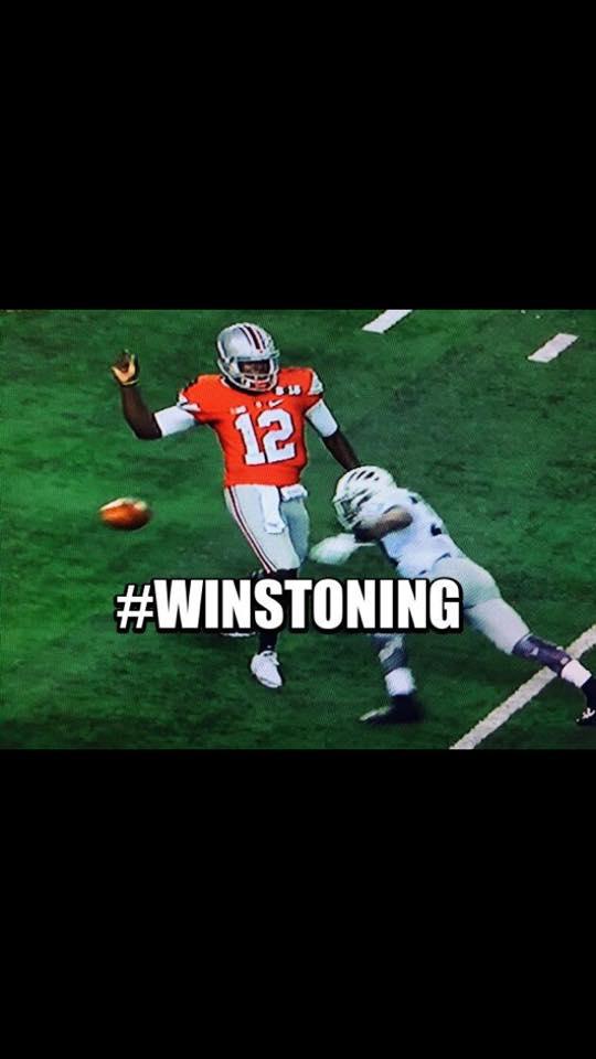 Winstoning