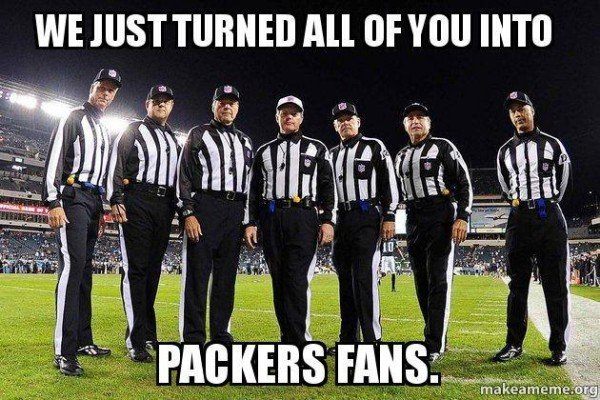 everyone is a Packers fan