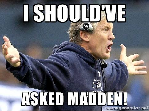 Ask madden