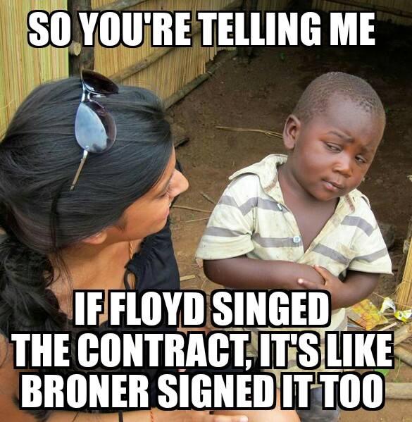 Broner joke