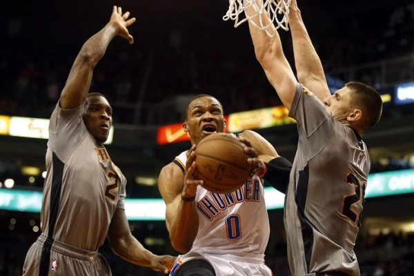 Eric Bledsoe, Russell Westbrook