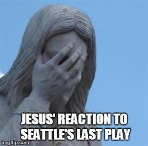 Jesus unhappy