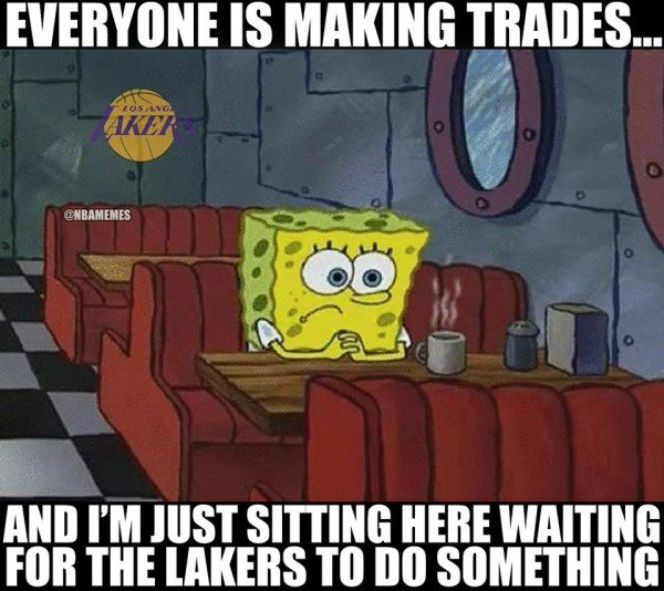 Lakers trade meme