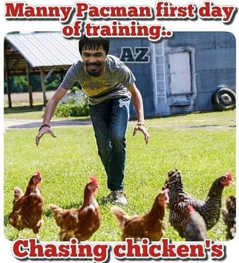 Pacman training