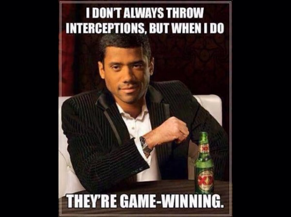 The right interceptions