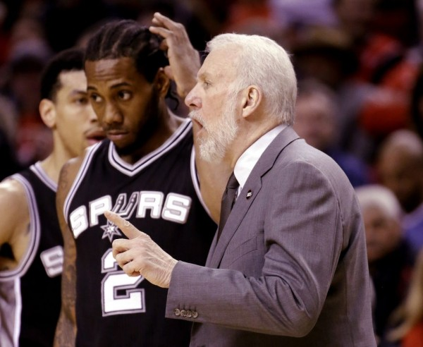 Trouble for the Spurs