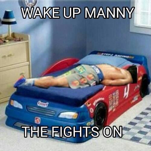 Wake up Manny