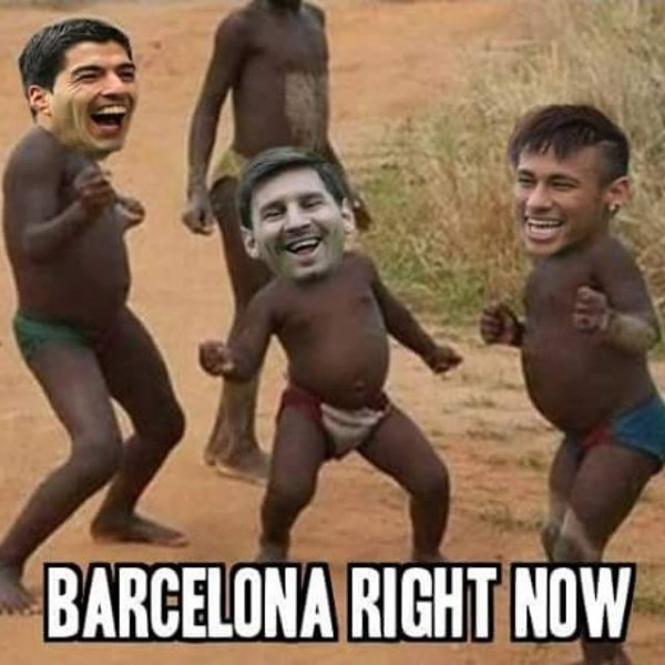 Barcelona right now