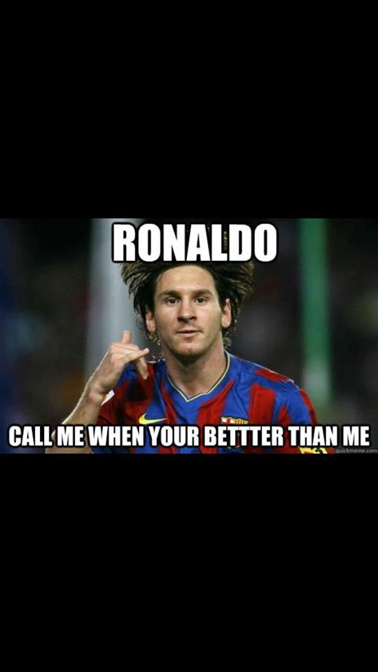 Call me Ronaldo
