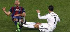 Cristiano Ronaldo, Javier Mascherano