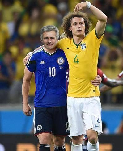 David Luiz & Mourinho meme