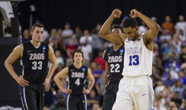 Duke beat Gonzaga