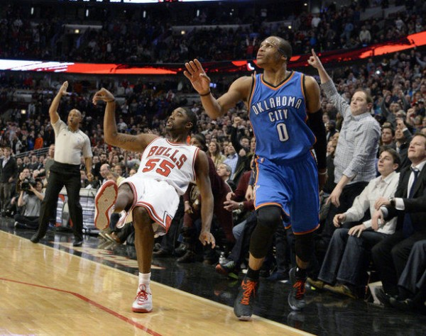 E'Twaun Moore, Russell Westbrook