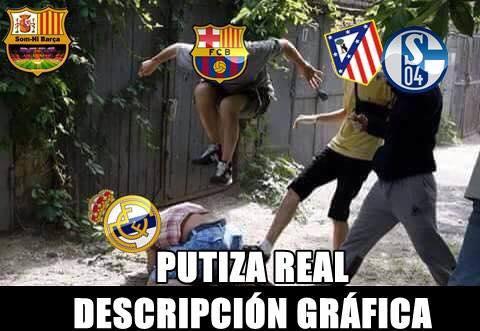 Everyone beating Real Madrid